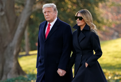 Donald Trump and first lady