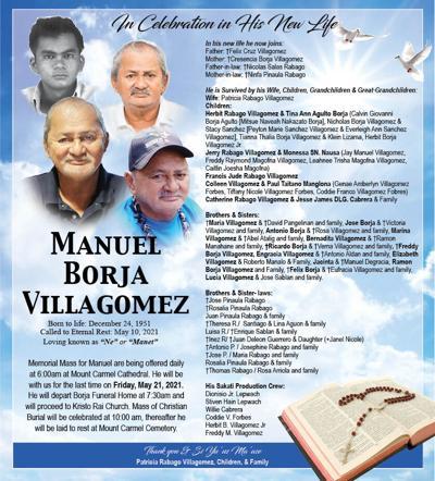 † Manuel Borja Villagomez
