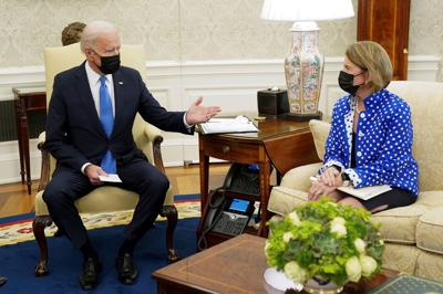 Biden with Capito