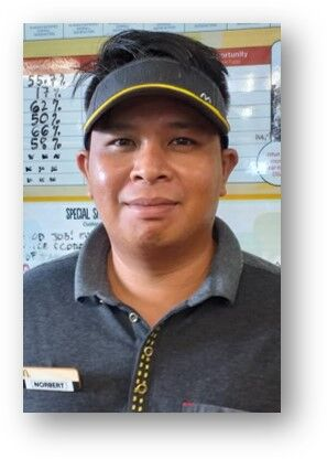 McDonald's Employee of 2nd Quarter