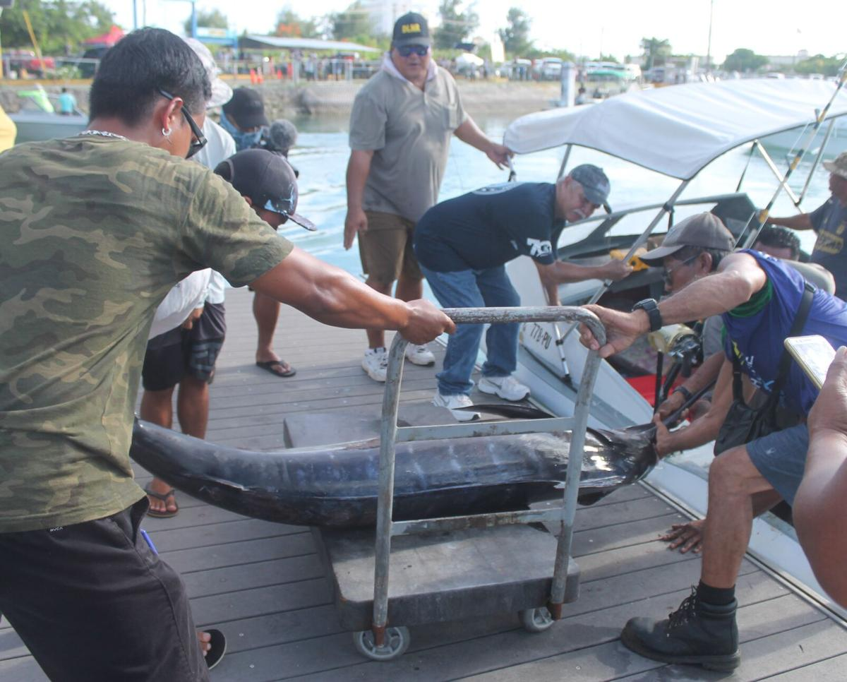 K Fisher tops Saipan fishing tourney