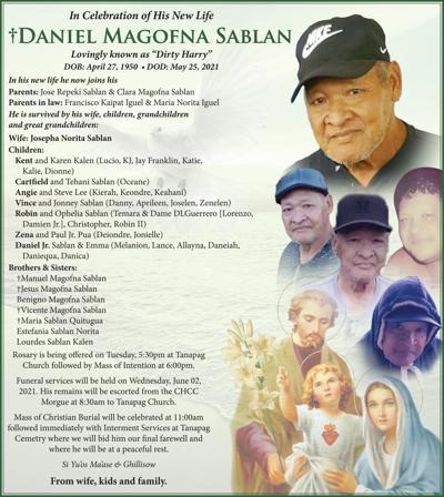 Daniel Magofna Sablan