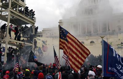 Trumpistas at the Capitol