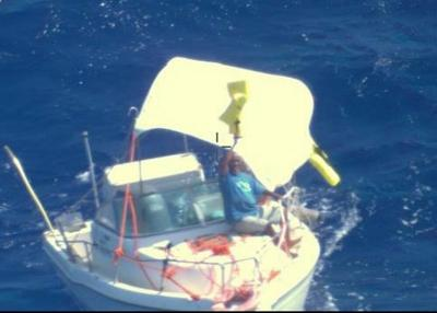 Coast Guard, partners rescue 2 fishermen from overdue fishing vessel off Tinian