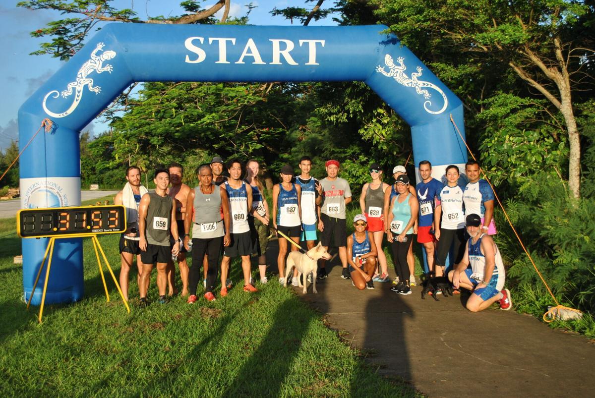 Run Saipan members