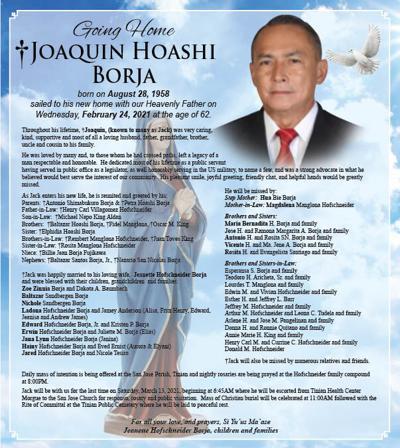 Joaquin Hoashi Borja