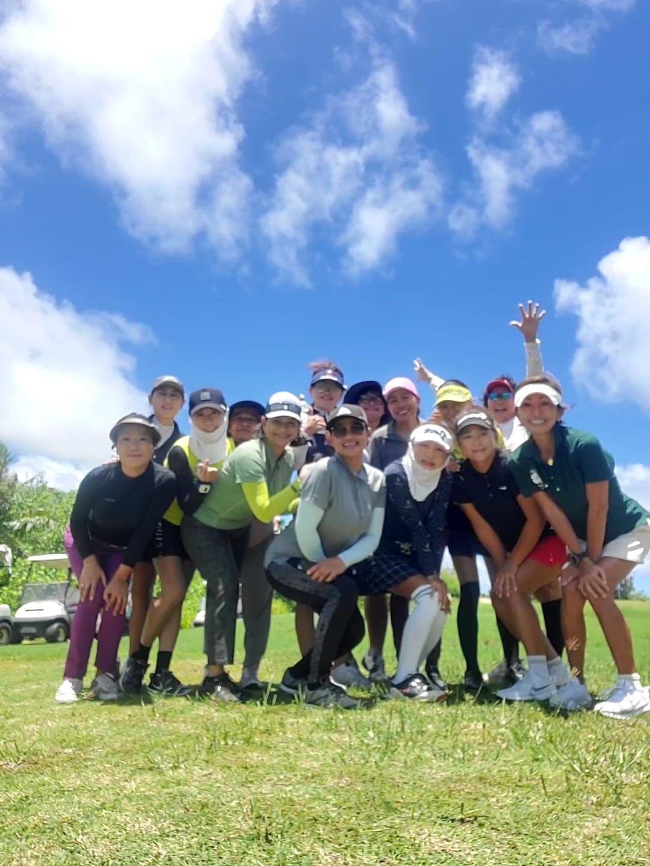 CNMI Women's Golf Association members