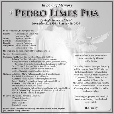 Pedro Limes Pua