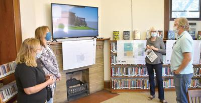 Library expansion plans presented to public