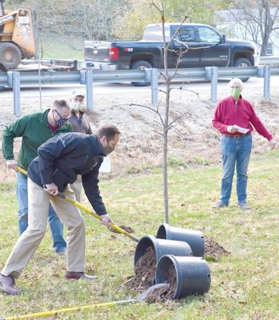 Arbor Day Palooza planting