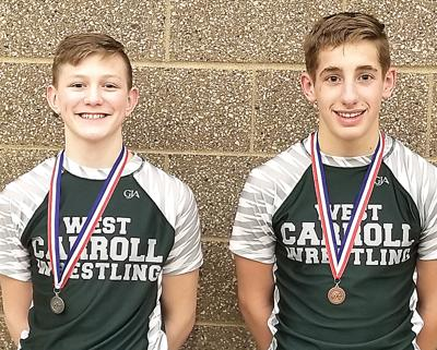 WCMS wrestler advance to state