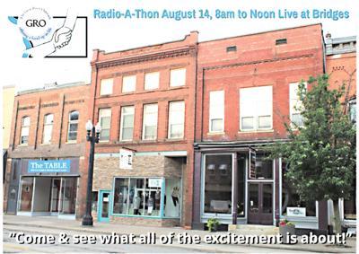 GRO radiothon Aug. 14