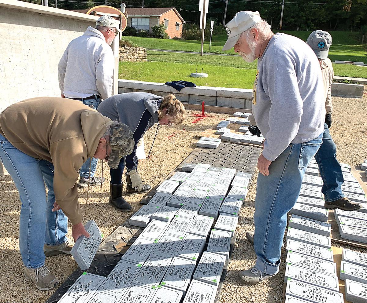 Pavers arrive for Walls of Honor