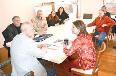 Shimer Square officials discuss plan with Bustos