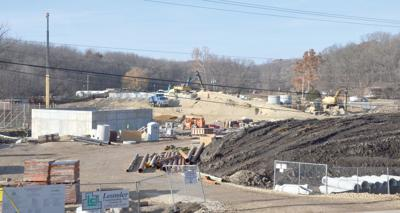 MC's wastewater plant taking shape