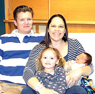 Savanna couple wins First Baby of 2019 contest