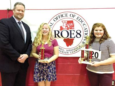 WCMS student second in Bee