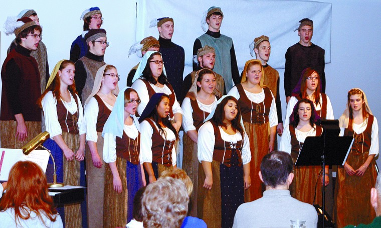 WCHS Music Department holds 5th annual Madrigal Tea