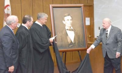 Carroll County receives Lincoln portrait