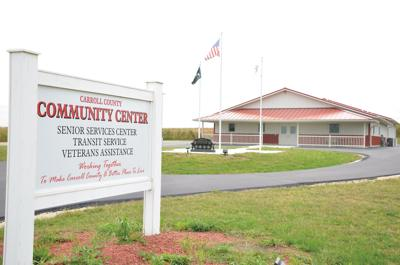 Carroll County Senior Center, Transit in new location