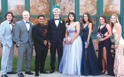 West Carroll High School Prom Court