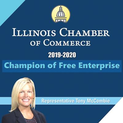 State Chamber cites McCombie
