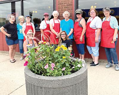 Planter Project in downtown Savanna