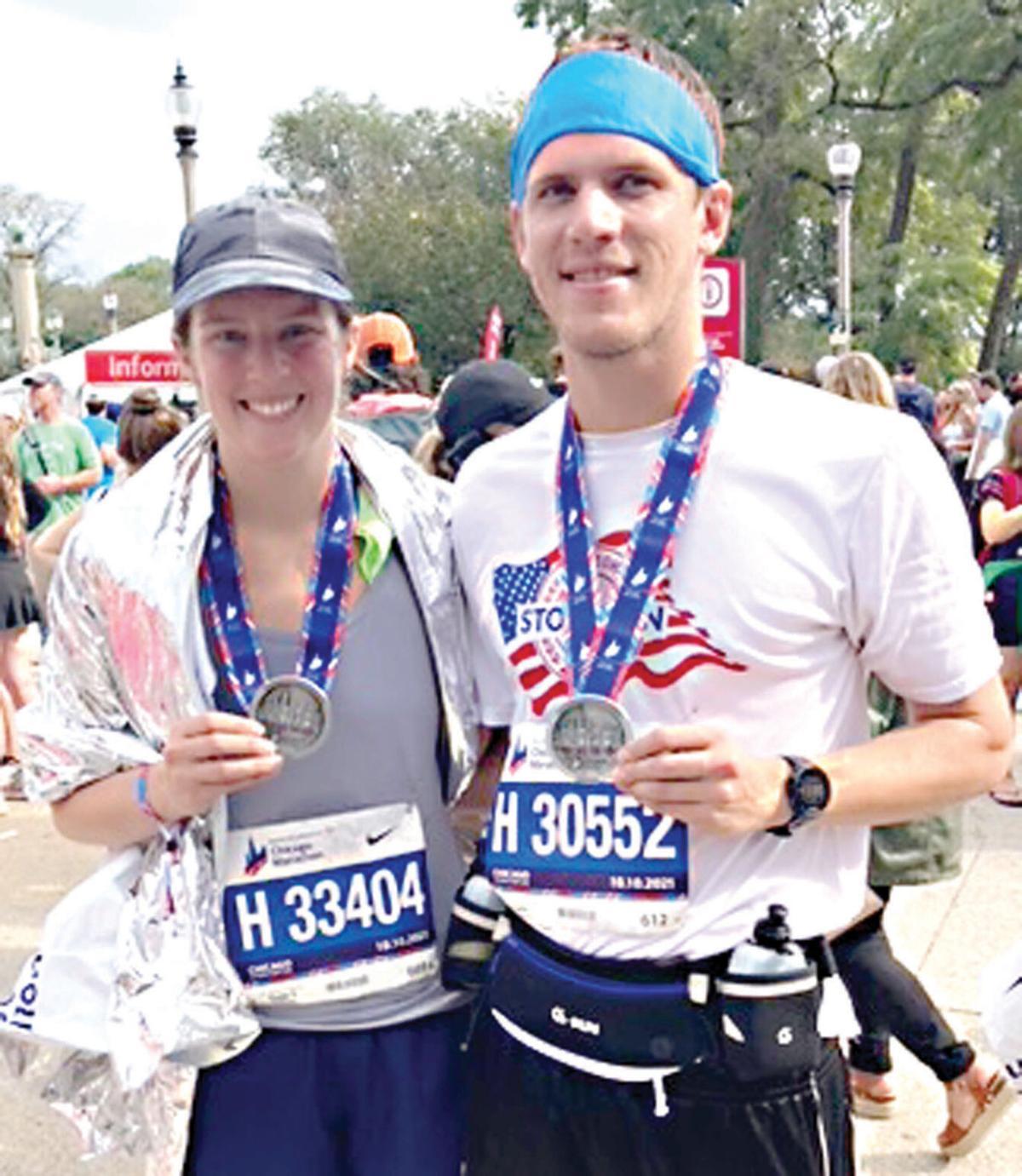 Chicago Marathon participants- 2