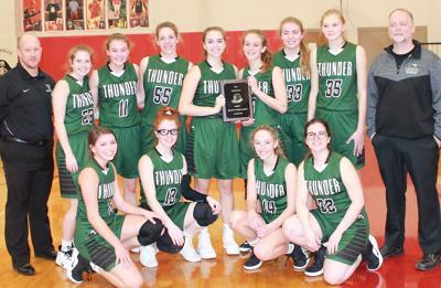 West Carroll girls make history