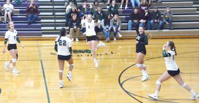 West Carroll wins regional volleyball match