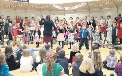 WCPS holds Christmas concerts