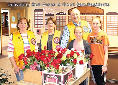 Mount Carroll Lions Club's Rose Day Saturday, April 18