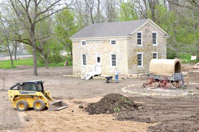 Landscaping adds to beauty of Stone House