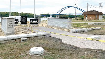 Veterans Memorial work continues