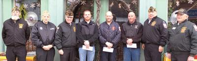 Savanna VFW supports fire departments