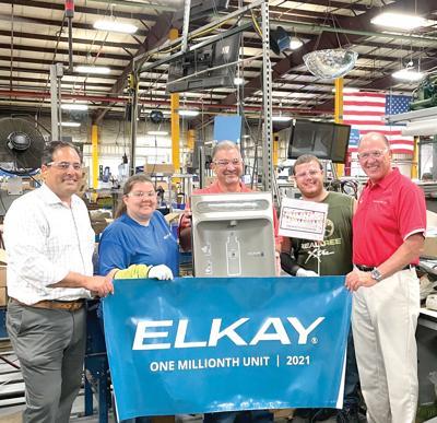 Elkay hits milestone