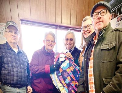 Sewing group supports pantry