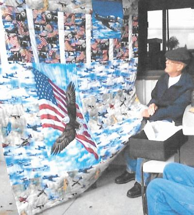 Quilt of Valor for Berry Williams