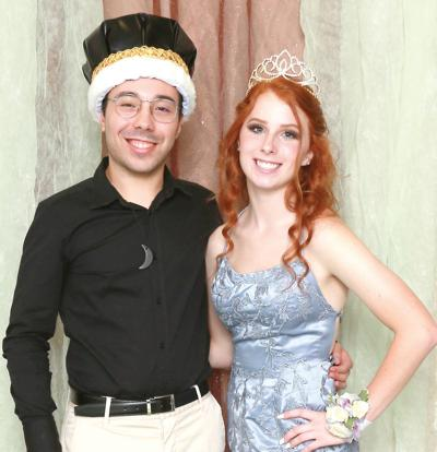 WCHS Homecoming royalty