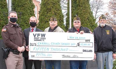 Savanna VFW supports K-9 program