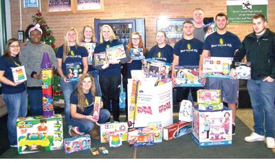 West Carroll students support Toys for Tots
