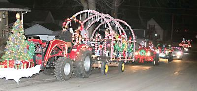 Savanna's lighted Christmas parade