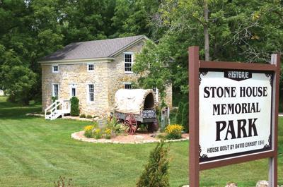 Stone House celebration and dedication