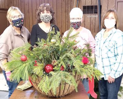 Downtown MC Christmas baskets