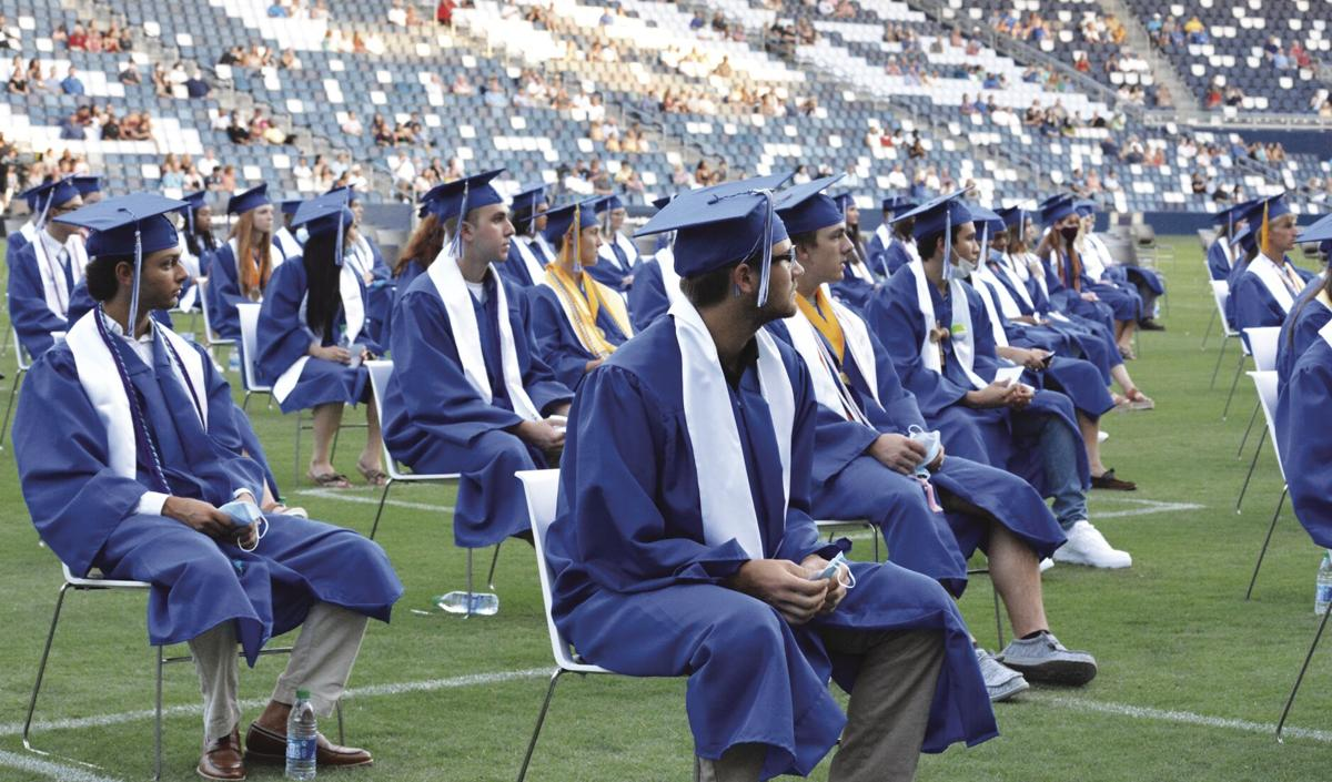 Liberty High School seniors celebrate belated graduation