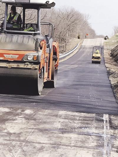 Amory Road repairs wrap up