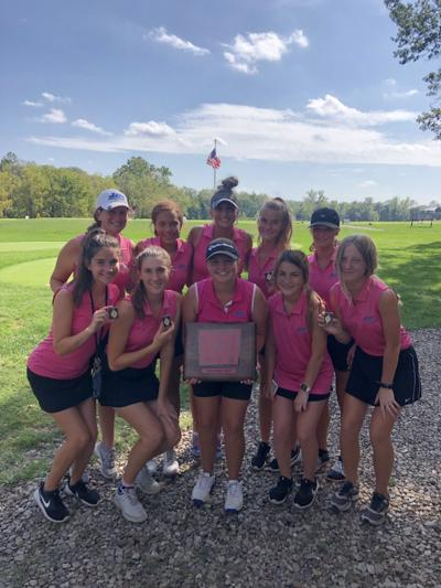 Liberty girls first, Liberty North second at conference golf championships