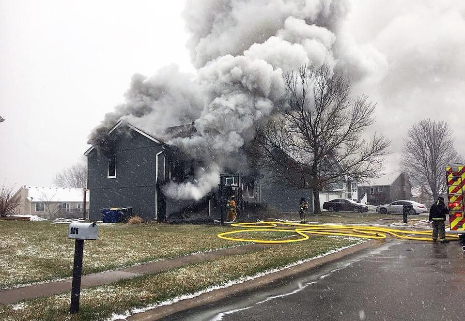 Easter fire renders Smithville house total loss