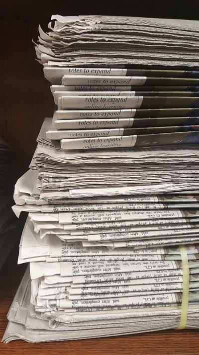 Tariffs threaten hometown papers
