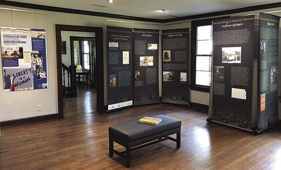 Women's suffrage display exhibit open at Atkins-Johnson Farm & Museum